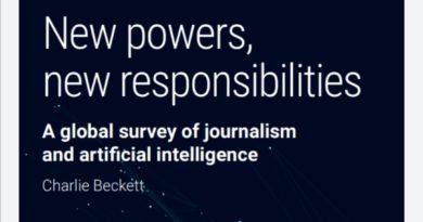 صدور كتاب جديد حول صحافة الذكاء الاصطناعي