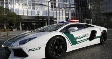 إطلاق سيارة شرطة تعمل بتقنية ال 5G في الإمارات