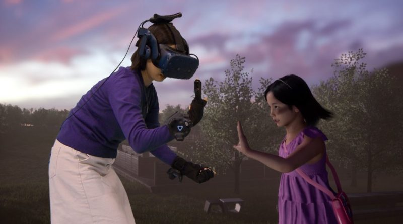 In the VR: Mum Meets her Dead Daughter (VIDEO)